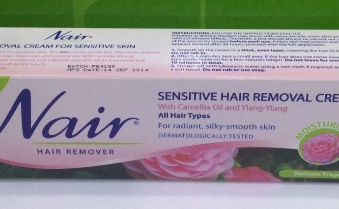 Nair Hair Removal Cream Instructions for Mens