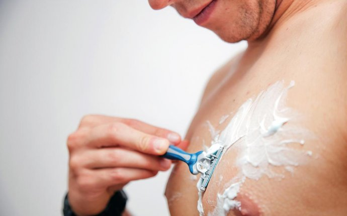 Waxing Chest Hair at Home for Mens